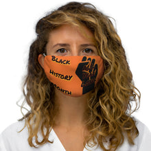 Load image into Gallery viewer, Black History Month Series Orange Face Mask