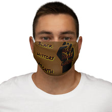 Load image into Gallery viewer, Black History Month Series Chocolate Face Mask
