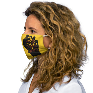 Black History Month Series Yellow Face Mask