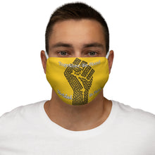 Load image into Gallery viewer, BLM Series - Together We Stand Yellow Face Mask