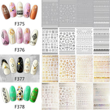 Load image into Gallery viewer, Exquisite Pattern Nail Art Stickers
