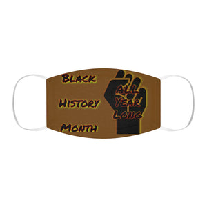 Black History Month Series Chocolate Face Mask