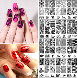 11 Styles Nail Art Stickers