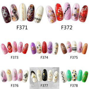 Exquisite Pattern Nail Art Stickers