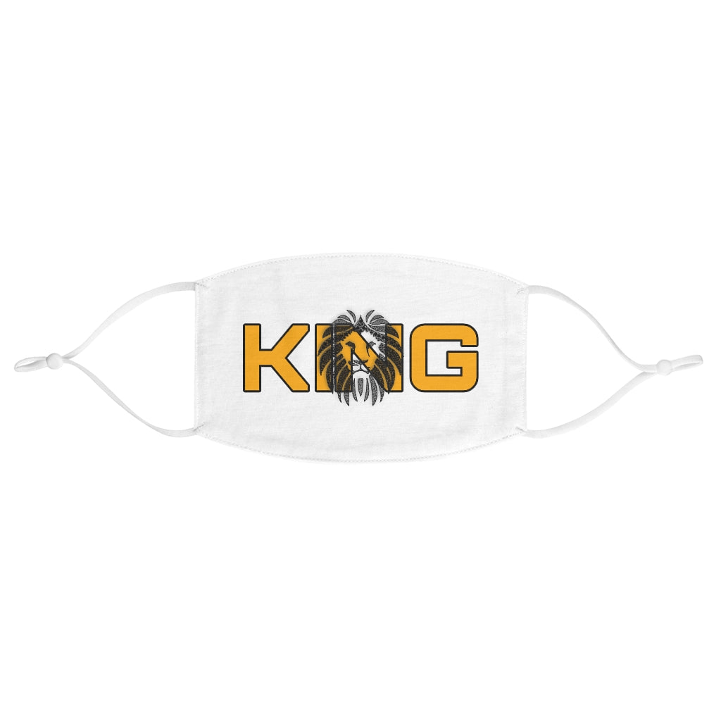 King Series Men's Fabric Face Mask