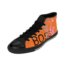 Load image into Gallery viewer, Boss Lady Women's Orange High-top Sneakers