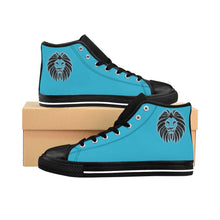 Load image into Gallery viewer, King Series Men's Calypso Blue High-top Sneakers