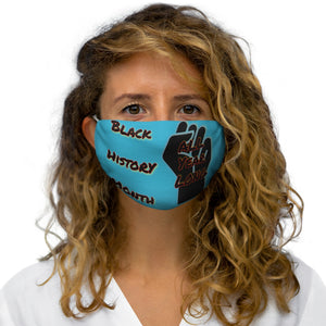 Black History Month Series Calypso Blue Face Mask