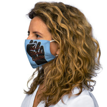 Load image into Gallery viewer, Black History Month Series Powder Blue Face Mask