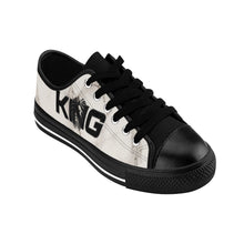 Load image into Gallery viewer, King Series Men's Black on Marble Sneakers