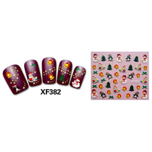 Load image into Gallery viewer, Fashion Cartoon Christmas Series Pattern Nail Art