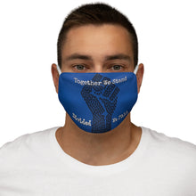 Load image into Gallery viewer, BLM Series - Together We Stand Blue Face Mask