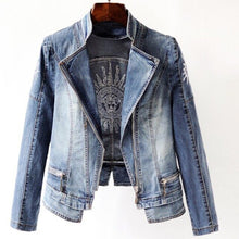 Load image into Gallery viewer, Star Women Denim Coat