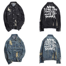 Load image into Gallery viewer, Unisex Jean Jacket