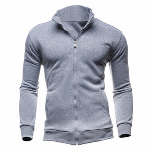 Turtleneck Full Zip Cardigan Sweater