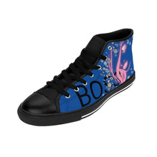 Load image into Gallery viewer, Boss Lady Women's Blue High-top Sneakers