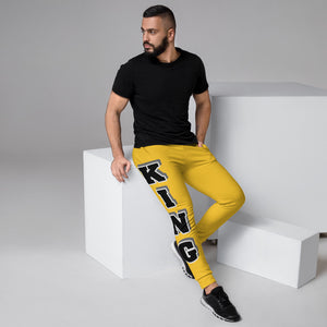 King Series Yellow Men's Joggers