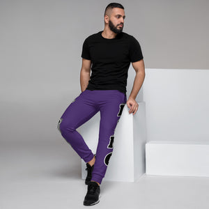 King Series Purple Men's Joggers