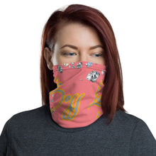 Load image into Gallery viewer, Boss Lady Pink Multi-Use Neck Gaiter