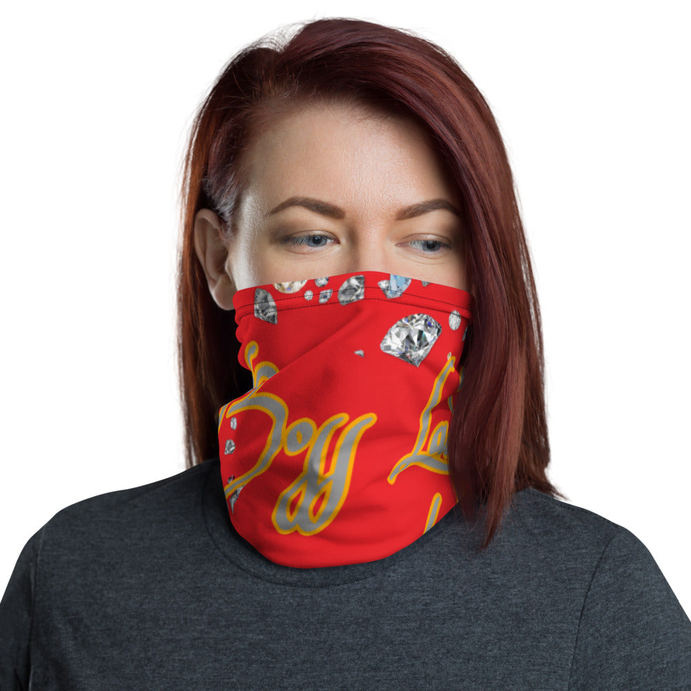 Boss Lady Red Multi-Use Neck Gaiter