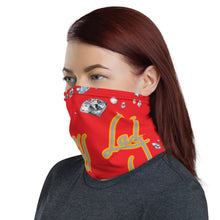 Load image into Gallery viewer, Boss Lady Red Multi-Use Neck Gaiter