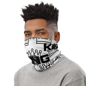 King Series White Multi-Use Neck Gaiter