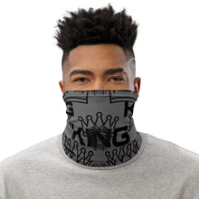 Load image into Gallery viewer, King Series Grey Multi-Use Neck Gaiter