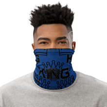Load image into Gallery viewer, King Series Blue Multi-Use Neck Gaiter