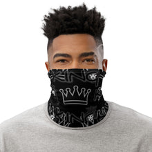 Load image into Gallery viewer, King Series Black Multi-Use Neck Gaiter