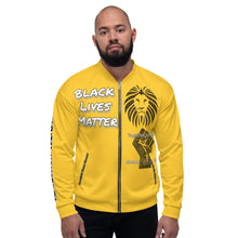 Load image into Gallery viewer, Black Lives Matter Series Purple Bomber Jacker