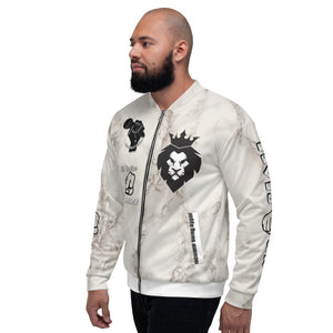 BLM Series - No Justice No Peace Marble Bomber Jacket