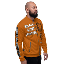 Load image into Gallery viewer, Black Lives Matter Series Caramel Bomber Jacker