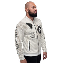 Load image into Gallery viewer, BLM Series - No Justice No Peace Marble Bomber Jacket