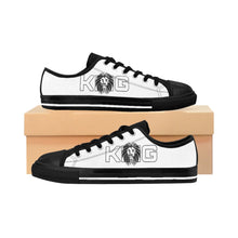 Load image into Gallery viewer, King Series Men's White on White Sneakers