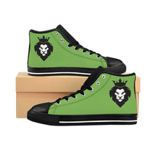 Load image into Gallery viewer, King Series Men's Green High-top Sneakers