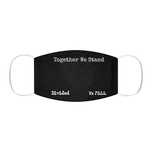 BLM Series - Together We Stand Black Face Mask