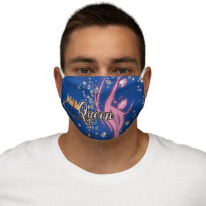 Queen Boss Blue Face Mask