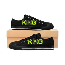 Load image into Gallery viewer, King Series Men's Green on Black Sneakers