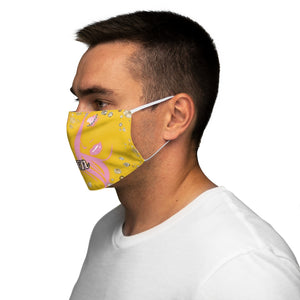 Queen Boss Yellow Face Mask