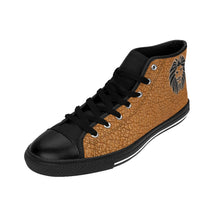 Load image into Gallery viewer, King Series Men's Brown Faux Leather High-top Sneakers