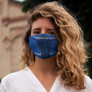 BLM Series - Together We Stand Blue Face Mask
