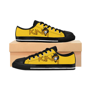 King Series Men's Gold on Gold Sneakers
