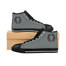 Load image into Gallery viewer, King Series Men's Grey High-top Sneakers
