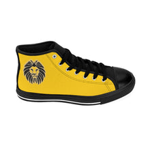 Load image into Gallery viewer, King Series Men's Yellow High-top Sneakers