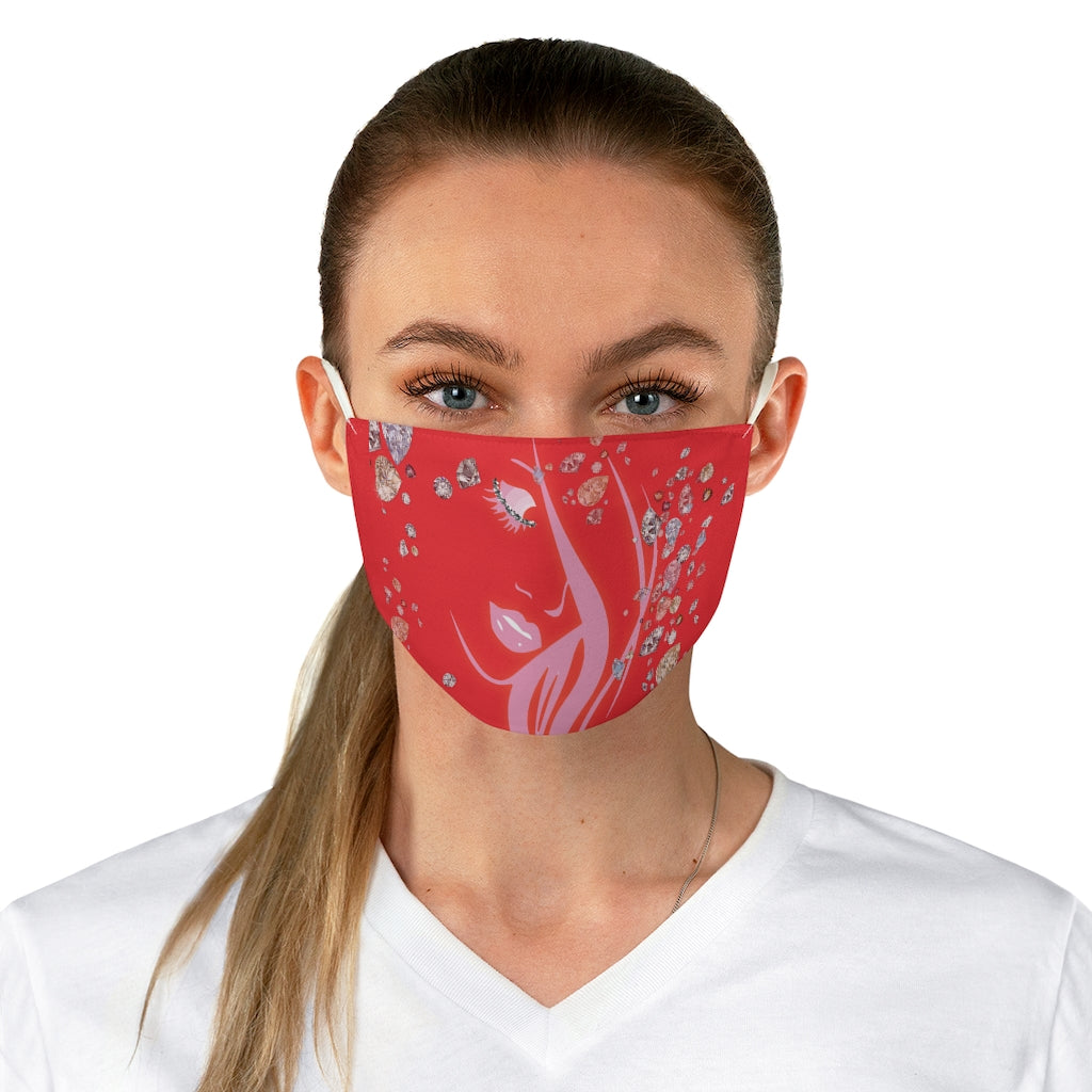 Boss Lady Adjustable Fabric Face Mask