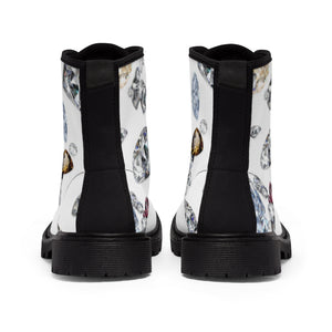 Boss Lady Women's Canvas Boots
