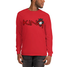 Load image into Gallery viewer, King Series Red Print Long Sleeve Shirt