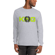 Load image into Gallery viewer, King Series Green Print Long Sleeve Shirt