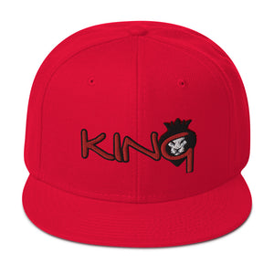 King Series Men's Snapback Hat
