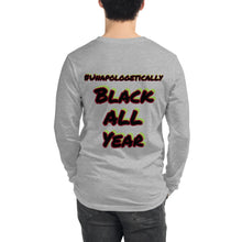 Load image into Gallery viewer, Black History All Year Long Sleeve Tee